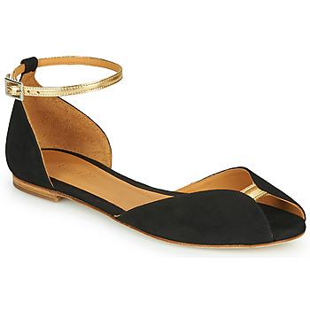 Topánky Ženy Sandále Emma Go JULIETTE Čierna / Zlatá