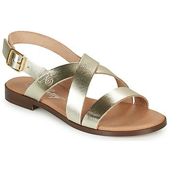 Topánky Ženy Sandále Betty London MADISSON Zlatá