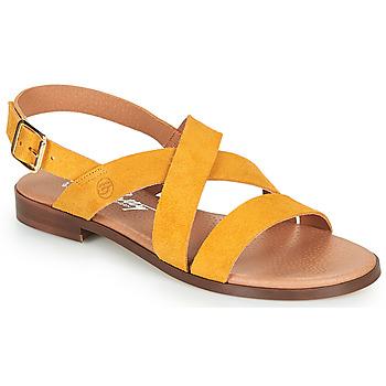 Topánky Ženy Sandále Betty London MADISSON Žltá