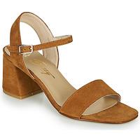 Topánky Ženy Sandále Betty London MAKITA Koňaková