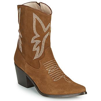 Topánky Ženy Čižmičky Betty London MOSSINO Ťavia hnedá