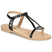 Topánky Ženy Sandále Betty London MISSINE Čierna
