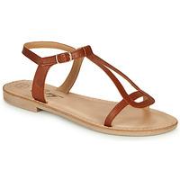 Topánky Ženy Sandále Betty London MISSINE Koňaková