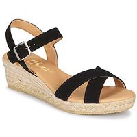 Topánky Ženy Sandále Betty London GIORGIA Čierna / Oranžová hrdzavá