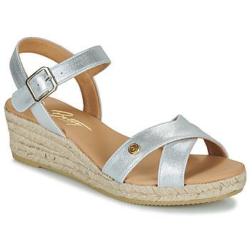 Topánky Ženy Sandále Betty London GIORGIA Strieborná