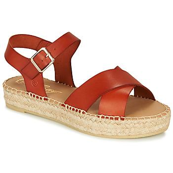 Topánky Ženy Sandále Betty London MIZOU Hnedá