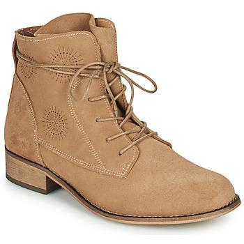 Topánky Ženy Polokozačky Betty London MARILU Béžová