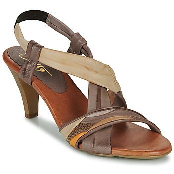 Topánky Ženy Sandále Betty London POULOI Ťavia hnedá