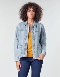Oblečenie Ženy Saká a blejzre Noisy May NMMELODIE Modrá