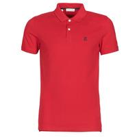 Oblečenie Muži Polokošele s krátkym rukávom Selected SLHARO Červená