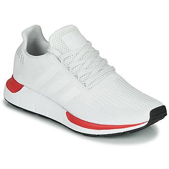 Topánky Muži Nízke tenisky adidas Originals SWIFT RUN Biela / Červená