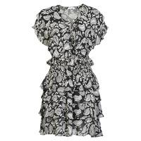 Oblečenie Ženy Krátke šaty Replay  Čierna / Biela