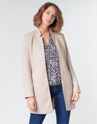 Oblečenie Ženy Kabáty Only ONLSOHO Béžová