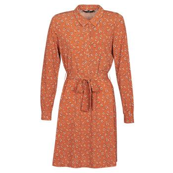 Oblečenie Ženy Krátke šaty Vero Moda VMTOKA Červená hrdzavá