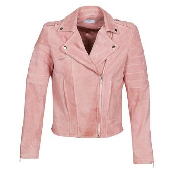 Oblečenie Ženy Kožené bundy a syntetické bundy Betty London MARILINE Ružová