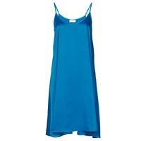Oblečenie Ženy Krátke šaty Moony Mood MOLETTE Modrá