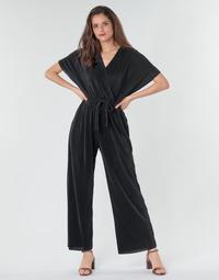 Oblečenie Ženy Módne overaly Moony Mood CLOKES Čierna