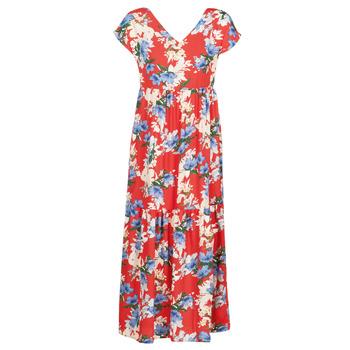 Oblečenie Ženy Dlhé šaty Betty London MALIN Červená / Biela / Modrá