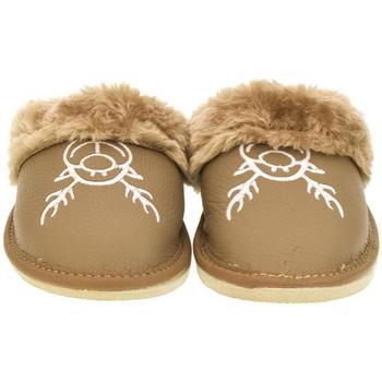 Topánky Ženy Papuče John-C Dámske hnedé papuče JANA ťavia