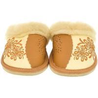 Topánky Ženy Papuče John-C Dámske béžové papuče MILKA béžová