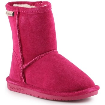 Topánky Dievčatá Snehule  Bearpaw Emma Toddler Zipper 608TZ-671 Pom Berry pink