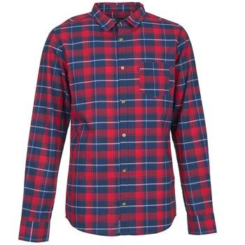 Oblečenie Muži Košele s dlhým rukávom Rip Curl CONNECTION červená / Modrá