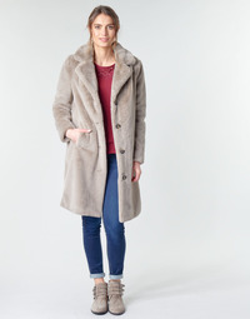 Oblečenie Ženy Kabáty Oakwood CYBER Hnedošedá