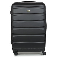 Tašky Pevné cestovné kufre David Jones CHAUVETTINI 107L Čierna