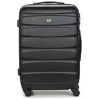 Tašky Pevné cestovné kufre David Jones CHAUVETTINI 72L Čierna