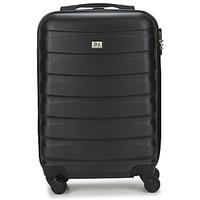 Tašky Pevné cestovné kufre David Jones CHAUVETTINI 40L Šedá