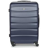 Tašky Pevné cestovné kufre David Jones CHAUVETTINI 107L Námornícka modrá