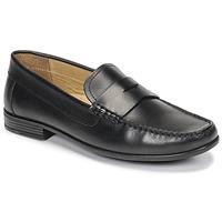 Topánky Muži Mokasíny André OFFICE Čierna