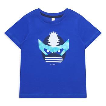 Oblečenie Dievčatá Tričká s krátkym rukávom Esprit ENORA Modrá