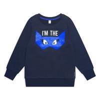 Oblečenie Dievčatá Mikiny Esprit ELONA Námornícka modrá