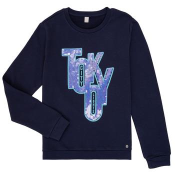 Oblečenie Dievčatá Mikiny Esprit ERIN Námornícka modrá
