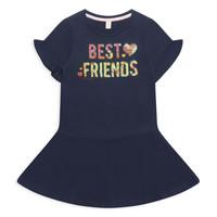 Oblečenie Dievčatá Krátke šaty Esprit EDINA Námornícka modrá