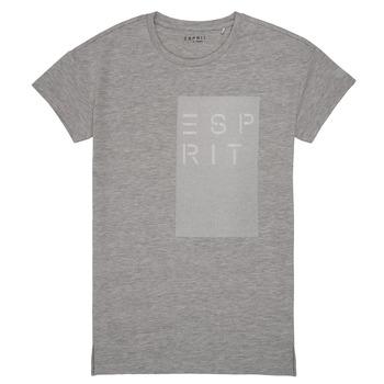 Oblečenie Dievčatá Tričká s krátkym rukávom Esprit EVELYNE Šedá