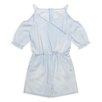 Oblečenie Dievčatá Módne overaly Esprit FRANCESCO Modrá