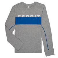Oblečenie Chlapci Tričká s dlhým rukávom Esprit FABIOLA Šedá