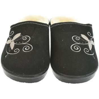 Topánky Ženy Papuče Mjartan Dámske papuče  LISA 4 čierna