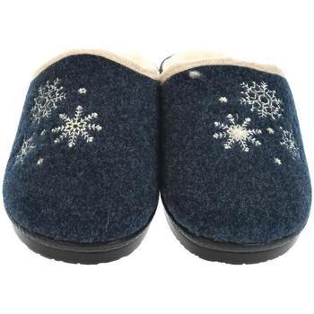 Topánky Ženy Papuče Mjartan Dámske papuče  LISA 3 tmavomodrá