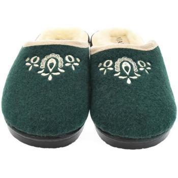 Topánky Ženy Papuče Mjartan Dámske papuče  LIDA 3 tmavozelená