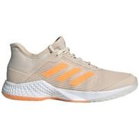 Topánky Ženy Bežecká a trailová obuv adidas Originals Adizero Club W Sivá,Béžová