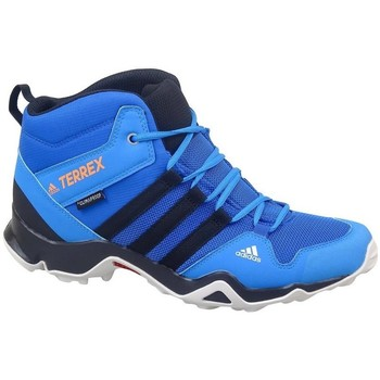Topánky Deti Turistická obuv adidas Originals Terrex AX2R Mid CP Modrá, Tyrkysová