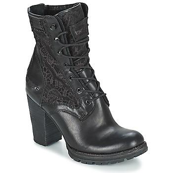 Topánky Ženy Čižmičky Bunker ACE MEGA čierna