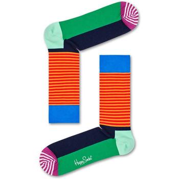 Textilné doplnky Ponožky Happy Socks Christmas cracker holly gift box Viacfarebná