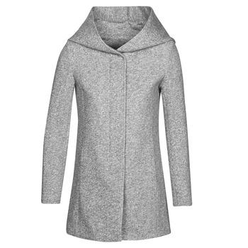 Oblečenie Ženy Kabáty Moony Mood SOLINE Šedá
