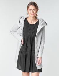 Oblečenie Ženy Kabáty Moony Mood ADELINE Šedá