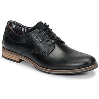 Topánky Muži Derbie André ROLL Čierna
