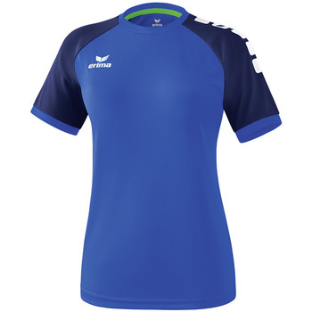 Oblečenie Ženy Tričká s krátkym rukávom Erima Maillot femme  Zenari 3.0 bleu/bleu/vert clair